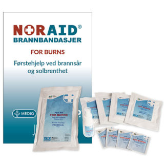 Noraid FOR BURNS bandasjepakke privat