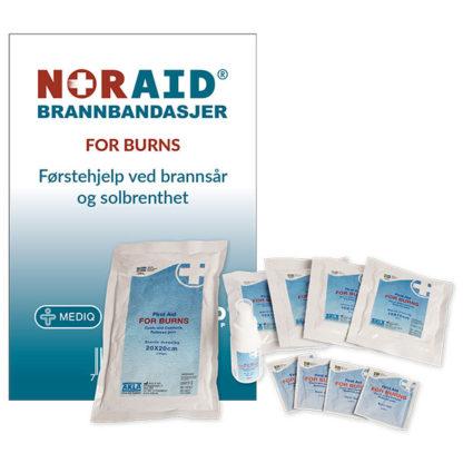 Noraid FOR BURNS bandasjepakke privat