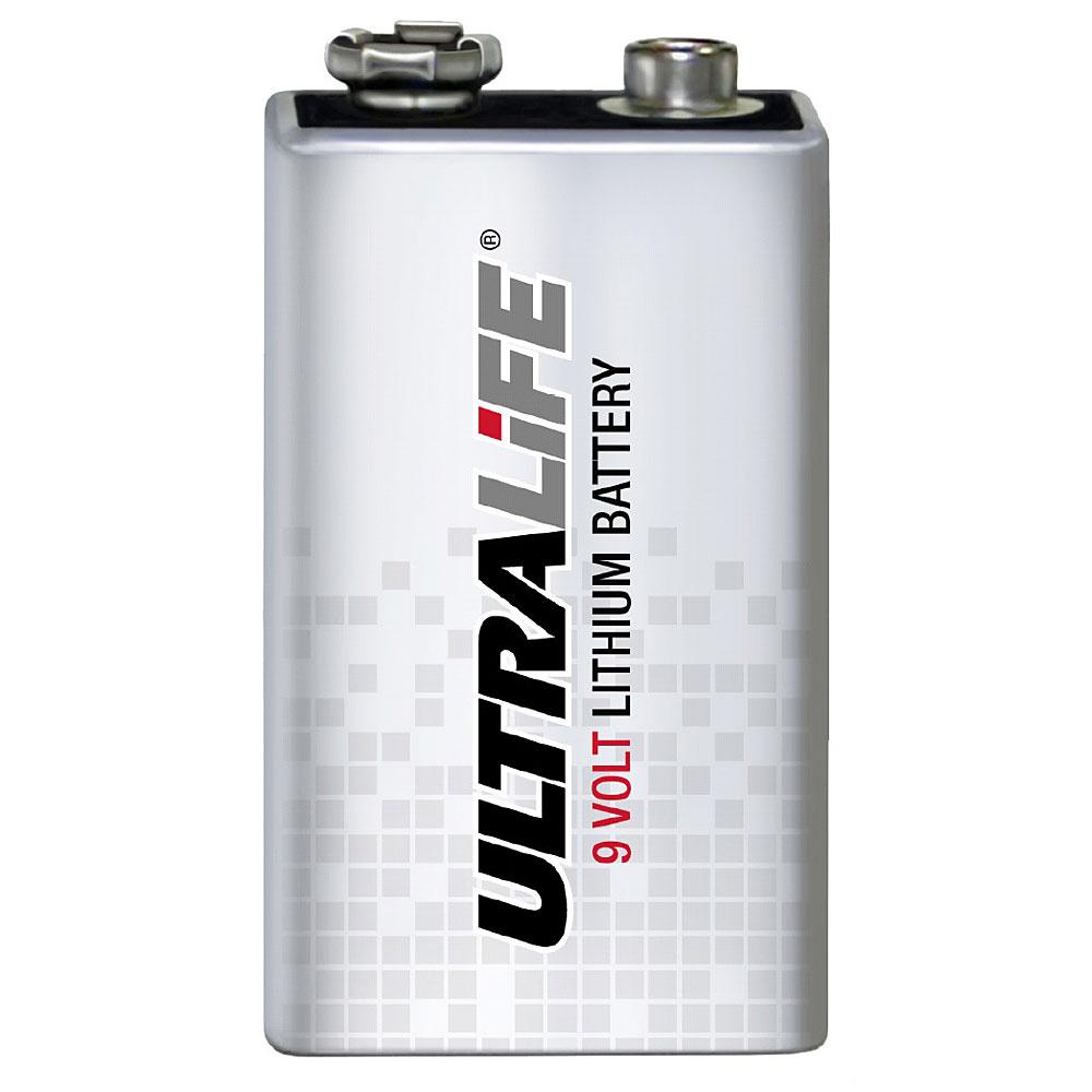 Ultralife Lithium 9 volt røykvarslerbatteri