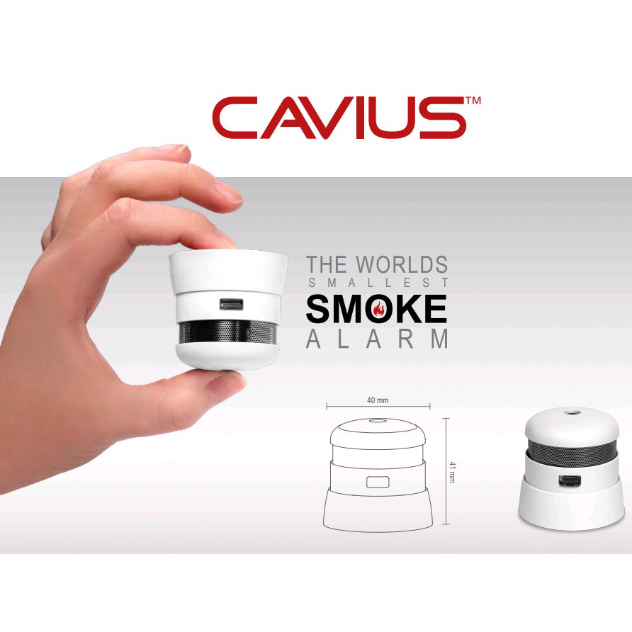 Cavius 10 år røykvarsler mål