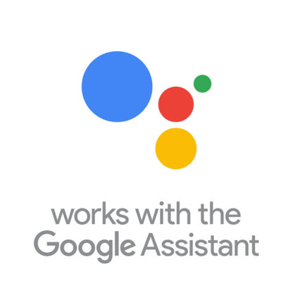 Works with the Google Assistant