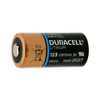 Duracell 123A lithium batteri