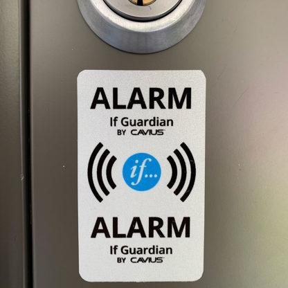 If Guardian - Boligalarm - Alarmklistremerke på dør