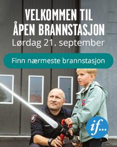 Åpen brannstasjon, lørdag 21. september
