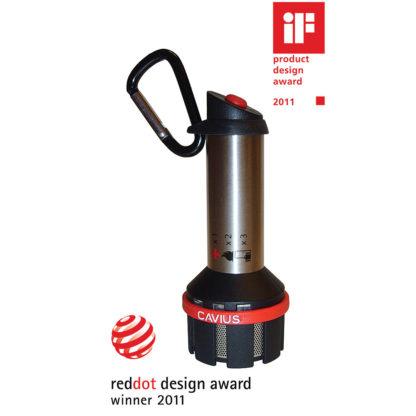 Cavius reiserøykvarsler og alarm - reddot award