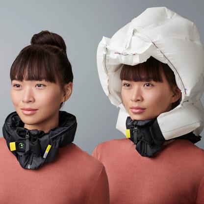Høvding sykkehjelm - airbag for syklister