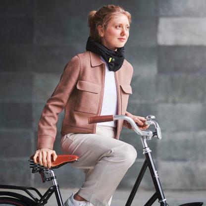 Høvding sykkehjelm - kollisjonspute for sykler