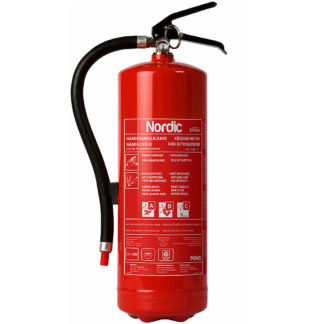 Nordic 6 kg brannslukker pulverslukker